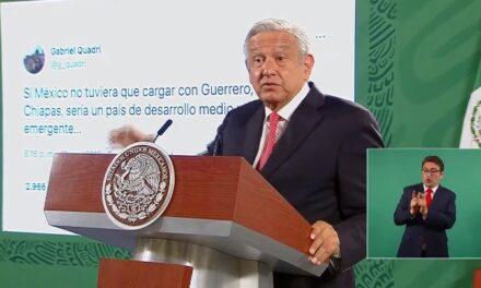 Culpa AMLO a los expresidentes de México de la ruina del país