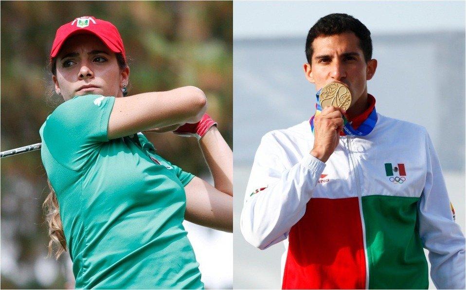 Gaby López y Rommel Pacheco, abanderados de México en los Juegos Olímpicos