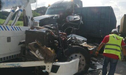 Choque provoca cierre parcial sobre autopista Puebla – Córdoba