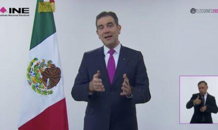 Se quedaría Morena con hasta 203 diputaciones: INE