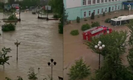 Videos: 250 casas quedan bajo el agua por inundaciones en Rusia