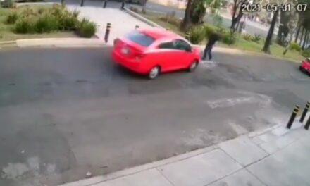 [VIDEO] Pelea entre automovilistas deja un atropellado y desata persecución en Churubusco