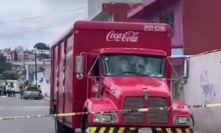 Niña de 8 años muere atropellada por una camión de Coca-Cola en Puebla