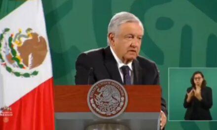 """""""Hay voluntad de Slim"""" para rehabilitar Línea 12: AMLO"""