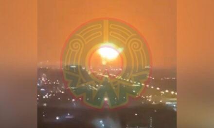 Video:Incendio en buque de carga provoca explosión en Dubái