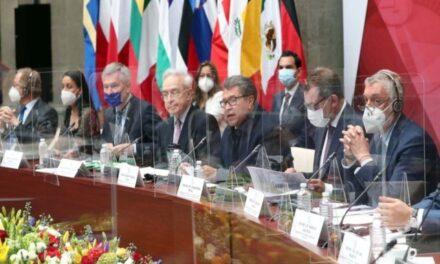 Monreal llama a avanzar en firma del Acuerdo Global México-Unión Europea