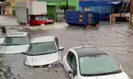 Fuertes lluvias afectan Zona Metropolitana de Guadalajara por segundo día consecutivo