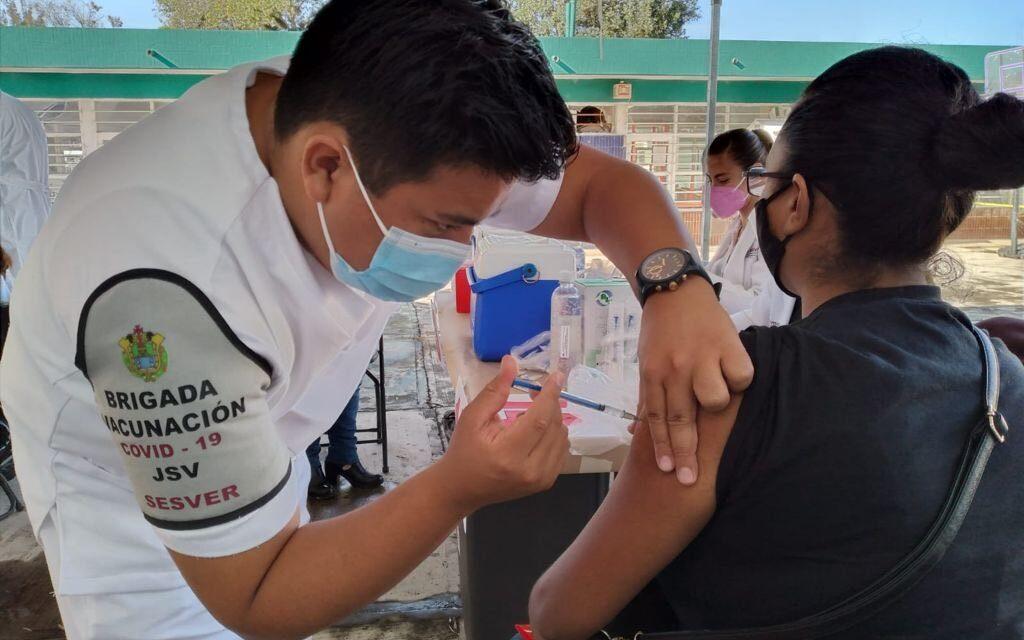 Próxima semana la segunda dosis a personas de 40 a 49 en Veracruz y Xalapa