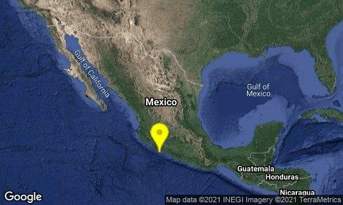Tiembla en Michoacán, de 5.1 preliminar