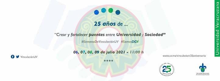 La Semana de Vinculación se realizará del 6 al 9 de julio a través de UVZoom y el canal de Facebook Vinculación UV