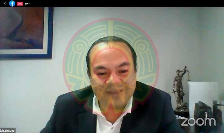 Luis Chávez Pang dictó conferencia sobre reforma a la Ley Federal del Trabajo
