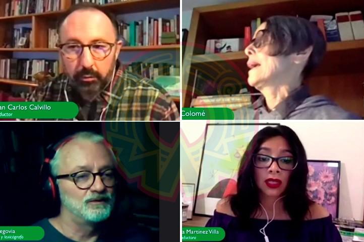 Juan Carlos Calvillo, Pura López, Francisco Segovia y Rosa Aurora Martínez