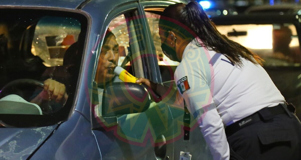 CDMX quitará licencia a conductores en estado de ebriedad de forma definitiva