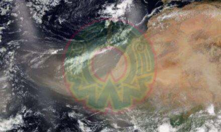 Polvo del Sahara llega hoy a México; causará disminución de lluvias y cielos rojos