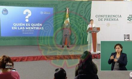 Quién es quién en las mentiras' permite el derecho de réplica: García Vilchis