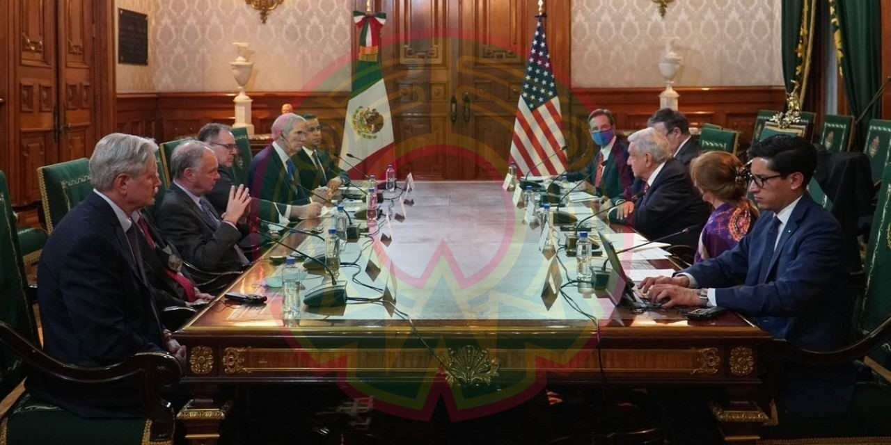Reunión con senadores de EUA fue cordial y amistosa: AMLO