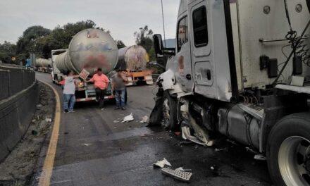 Se registra accidente en la carretera Puebla – Córdoba