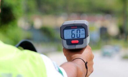 Implementa Dirección General de Tránsito y Seguridad Vial del Estado de Veracruz operativo radar sobre el bulevar Xalapa-Coatepec