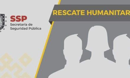 Resguarda SSP a 59 migrantes; detiene a dos, en Minatitlán