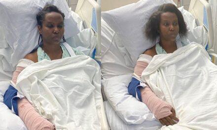 Tras el ataque viuda del Presidente de Haití publica fotos desde el hospital