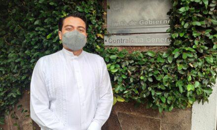 Dr. Dario Fabian Hernández se registra como candidato a la rectoría de la UV