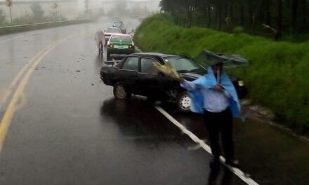 Accidente en la carretera Xalapa – Perote