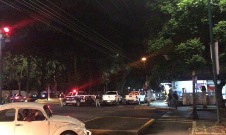 Persona atacada con arma de fuego en la avenida Xalapa