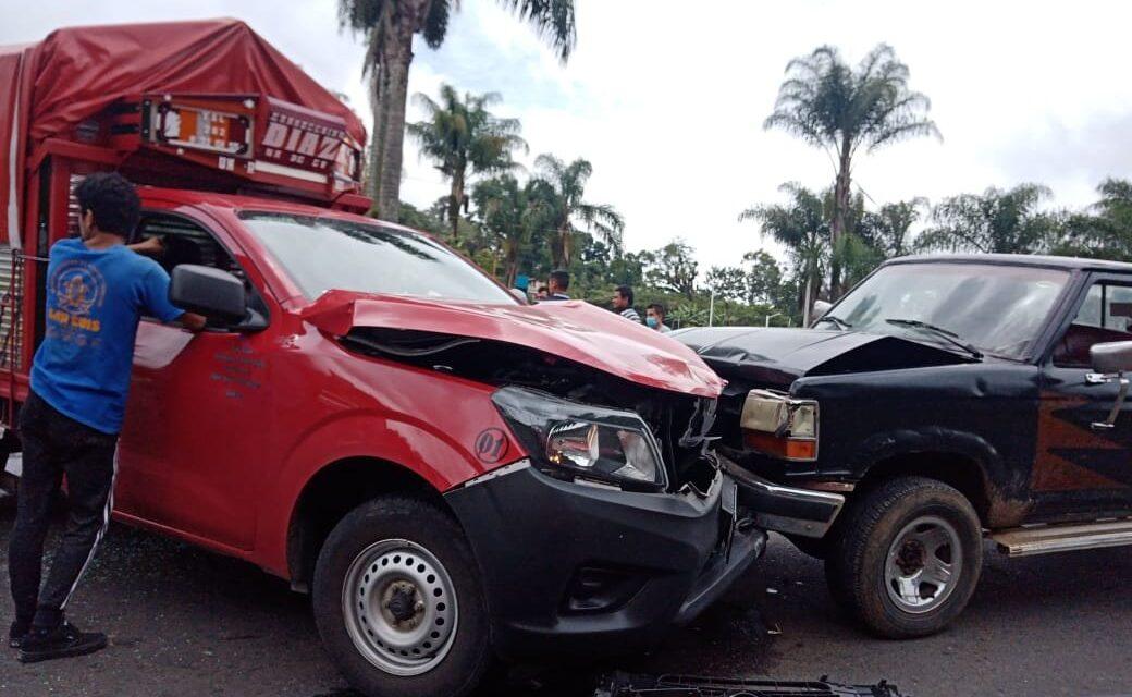 Accidente de tránsito en la carretera Huatusco – Conejos