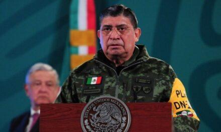Luis Cresencio Sandoval felicita a la Semar por aniversario de la Heroica Escuela Naval
