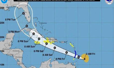 """""""Elsa"""" se fortalece y se convierte en el primer huracán de 2021 en el Atlántico"""