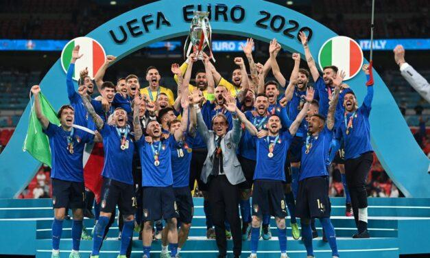 Italia, campeona de la Eurocopa tras remontar y vencer a Inglaterra en la tanda de penaltis