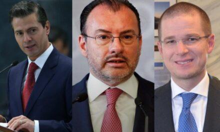 FGR va tras operadores de Peña Nieto, Luis Videgaray y Ricardo Anaya