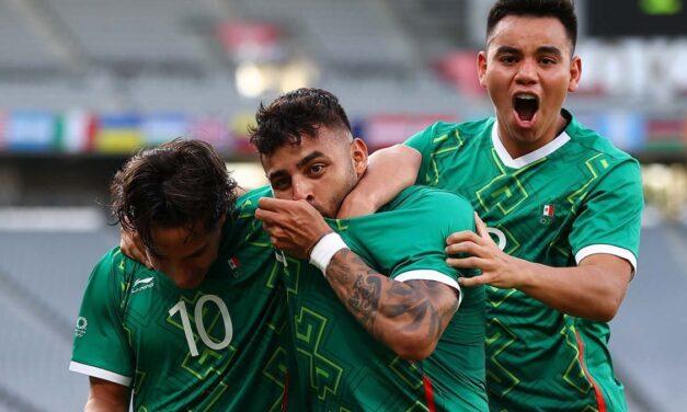 México golea 4-1 a Francia en Tokio