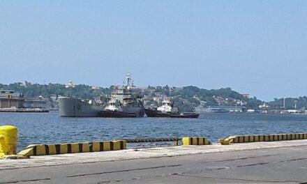 Llega a La Habana primer barco con ayuda de México