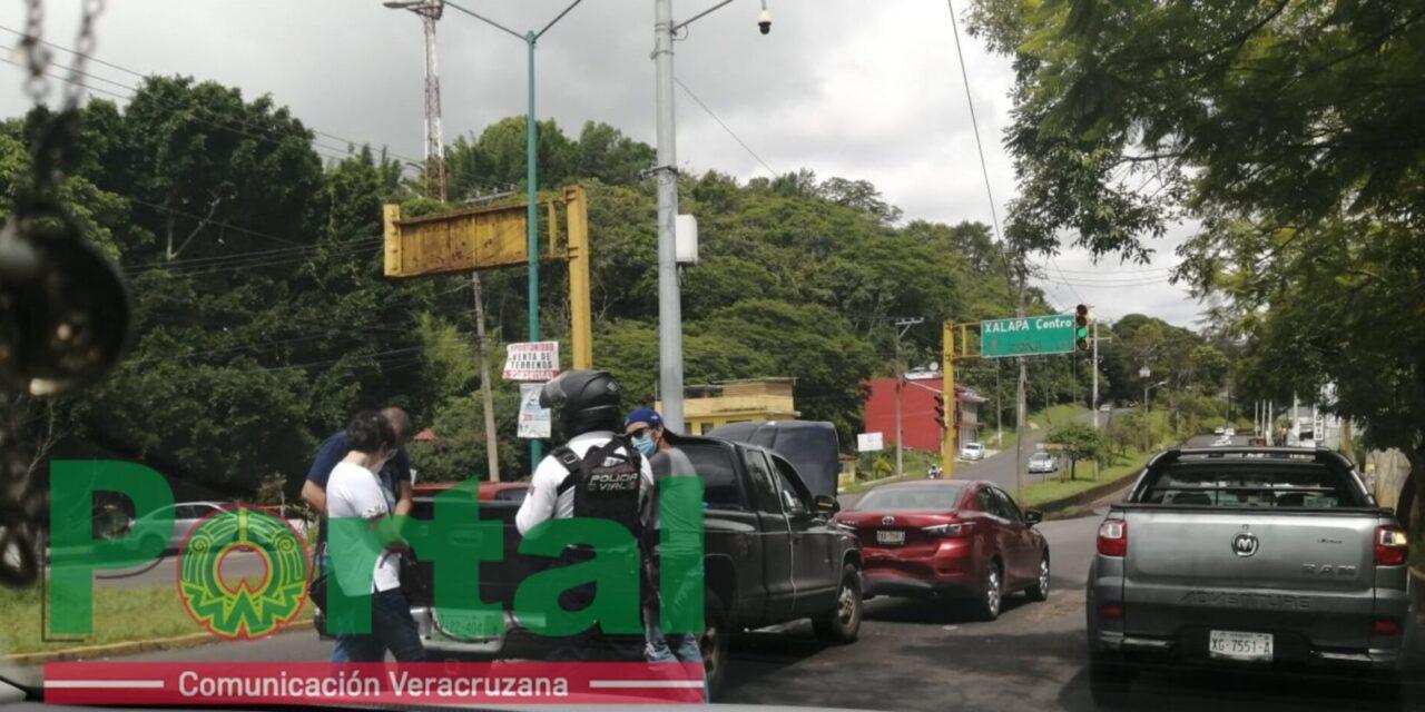 Accidente de tránsito sobre el Arco Sur, Xalapa