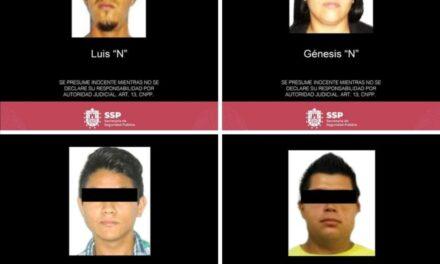 Detiene Mando Único Policial a presunta banda dedicada al robo en Coatzacoalcos