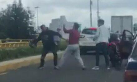 Video: Se registra pelea entre conductores a la altura del Distribuidor de La Araucaria