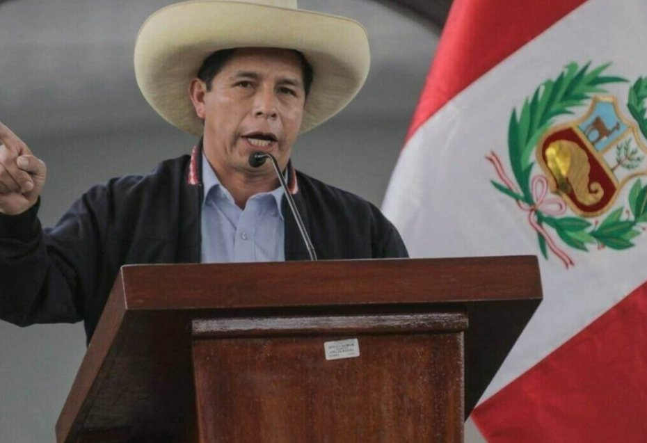 El tribunal electoral peruano proclama presidente a Pedro Castillo