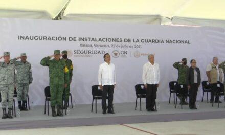 AMLO encabeza Inauguración de Instalaciones de la Guardia Nacional en Xalapa, Veracruz