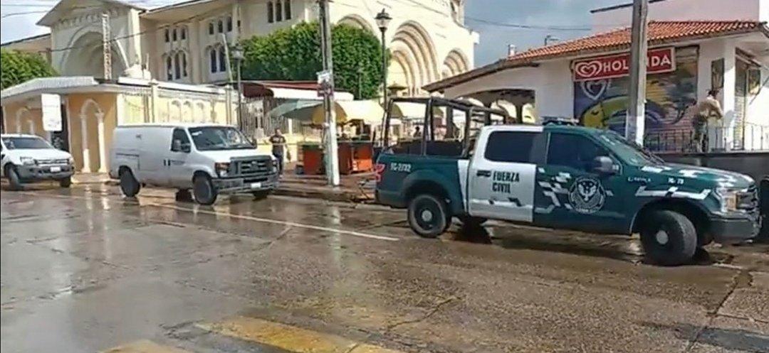 Asesinan a elemento de la Fuerza Civil en Acayucan