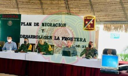 Coordinan trabajos SSP, Sedena y Guardia Nacional para rescate humanitario de migrantes