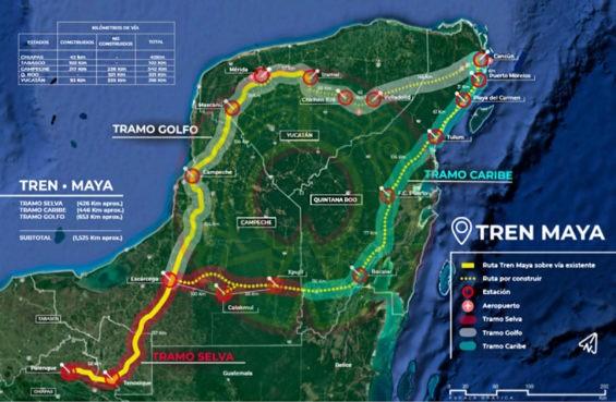 La ruta del Tren Maya será modificada y ya no pasará por Campeche.