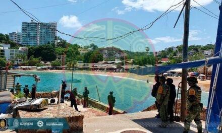 Deja tres heridos balacera en Playa Caleta de Acapulco, psicosis entre turistas