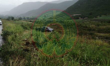 Accidente de tránsito sobre la carretera C´rodoba-Puebla