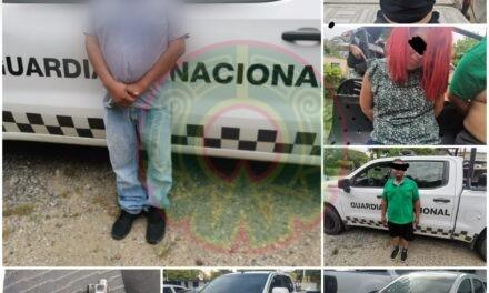Guardia Nacional detiene banda de polleros en Veracruz