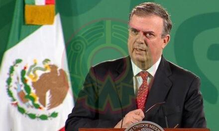 Marcelo Ebrard anuncia que México recibirá 8.5 millones de vacunas donadas por EU