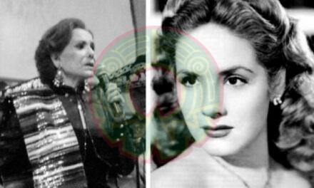 Muere la actriz Rosita Quintana a los 96 años, leyenda del cine mexicano.
