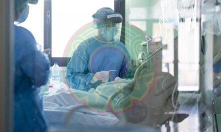 En las últimas 24 horas en el país se registraron 6 mil 543 contagios de covid 19 y 371 muertes