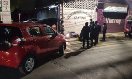 Motociclista lesionado en la avenida Úrsulo Galván, Xalapa