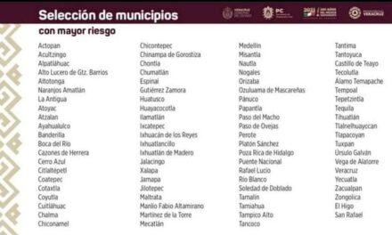 Emiten Declaratoria de Emergencia para veintidós municipios en Veracruz